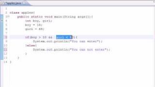 Java Programming Tutorial - 11 - Logical Operators