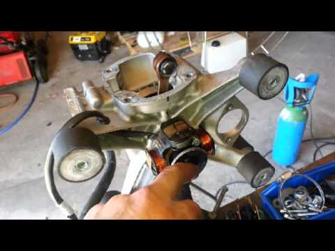 Mantenimiento motor Walkerjet 200