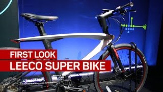 Lasers and a computer set LeEco's Super Bike apart