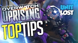 Overwatch Uprising Guide - TOP Tips and Advice! [Tracer, Mercy, Reinhardt and Torbjorn]