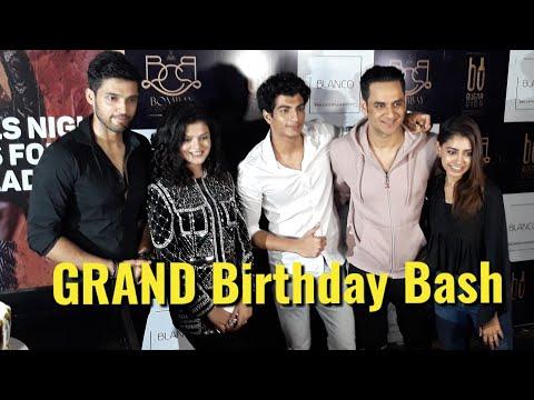 Uncut: Palash Muchhal GRAND Birthday Party 2018   Parth Samthaan,Vikas Gupta,Niti Taylor, Iulia