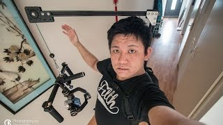 DIY Overhead Camera / Gimbal Backpack Support by Chung Dha