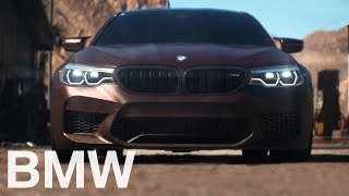The all-new BMW M5 (2017) in Need for Speed Payback.