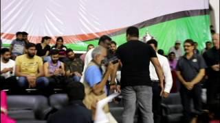 Actor Surya Felicitates  UBA Pro Basketball Players in Satyabama University
