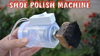 How to Make Automatic Shoe Polish Machine - AT HOME - VERY SIMPLE