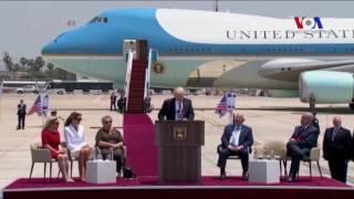 Başkan Trump İsrail'de