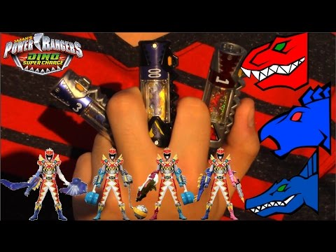 Power Rangers Dino Super Charge T-Rex Super Charge Formations
