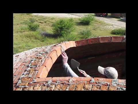 Impressively skilled brick layers Vault contruction.