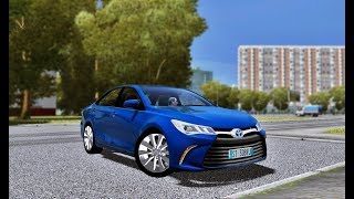 City Car Driving - Toyota Camry XLE 2017 | + Download [LINK] | 1080p & G27