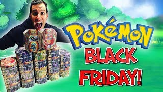 SEARCHING and FINDING BEST POKEMON CARDS on BLACK FRIDAY from WALMART and TARGET! MASSIVE HAUL!