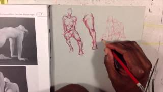 Gerimi Drawing Comics 054: Foreshortened knees