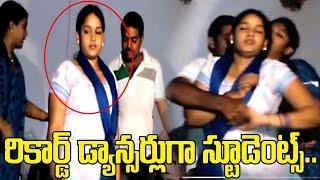 College Girls Turns As Recording Dancers in Andhra Pradesh