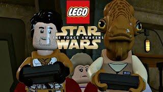 LEGO Star Wars The Force Awakens - Post-Credits Funny Parody Scenes