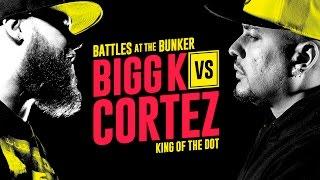 KOTD - Rap Battle - Bigg K vs Cortez | #BATB2