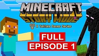 Minecraft Story Mode Gameplay Walkthrough Part 1 [1080p HD] Full Episode - No Commentary