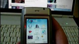 How to play Youtube videos on Nokia 6630 Smartphone.