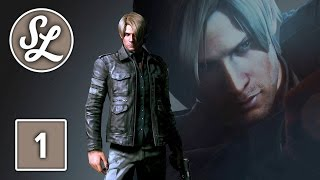 Resident Evil 6 Gameplay Walkthrough Part 1 - Leon Campaign Chapter 1 (PS4)
