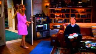 The Big Bang Theory Sheldon plays Bongos German