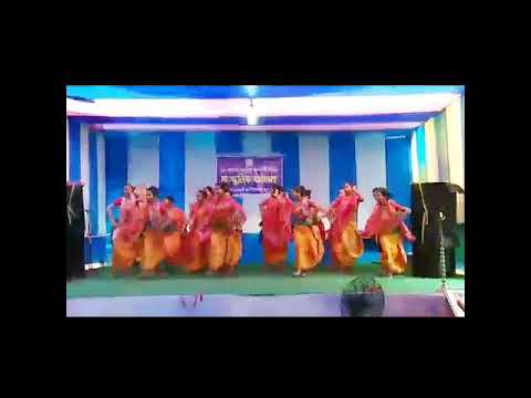 GLC college barpeta road bodo students dance in the general social pressman 2017