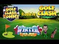 Golf Clash tips, Playthrough, Hole 1-9 - ROOKIE - TOURNAMENT WIND! Winter Major Tournament!