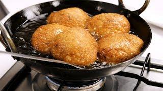 कुरकुरी प्याज कचोरी की सीक्रेट हलवाई विधि - fuli fuli crispy pyaz kachori recipe cookingshooking