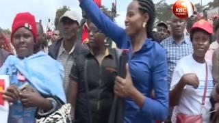 Rais Uhuru Kenyatta ameahidi kundeleza ujenzi wa barabara kuu ya Thika hadi Nanyuki