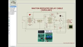 Repeater Delay Cable [Simulasi]