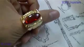 Make 18k gold handmade rings