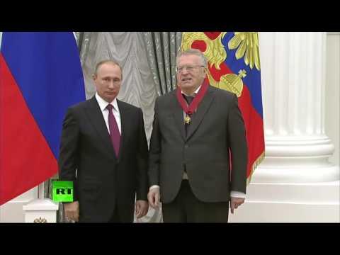 Жириновски назвао Путина царем!