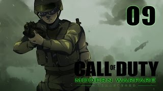 Call of Duty 4 Modern Warfare Remastered Campaign Walkthrough Part 9 - Inescapable Gaz