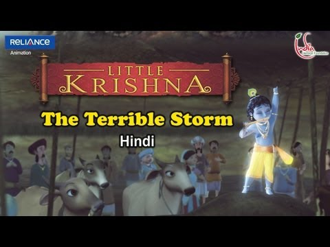 Xxx Mp4 Little Krishna Hindi Episode 2 Govardhana Lila 3gp Sex