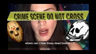 SCARING A SCAMMER asking where I can HIDE THE BODIES!!! LOL #irlrosie #scambaiter irl rosie