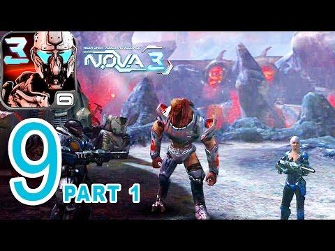 N.O.V.A 3 - iPhone Gameplay Walkthrough Mission #9 Part 1