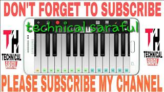 Ami kemne nami nodir jole satar janina piano tutarial please subscribe my channel