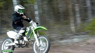 Kawasaki KX 250 FMF Gnarly - Sweet 2-Stroke Sound Compilation