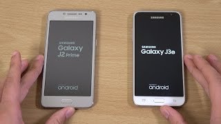 Samsung Galaxy J2 Prime vs Galaxy J3 2016 - Speed Test!