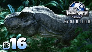 SEARCHING FOR THE T.REX!!! - Jurassic World Evolution FULL PLAYTHROUGH | Ep16 HD