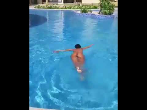Xxx Mp4 Zodwa Wabantu Swims In An Outdoor Pool Completely Naked 3gp Sex