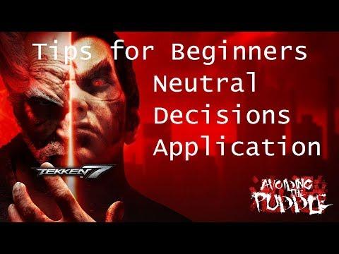 Tekken 7 Tips for Beginners: Making Decisions in Neutral, Kazuya Case Study