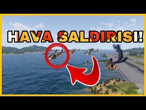 Arma 3-Hava Saldırısı ! /w BATA Game Record [57.Alay]