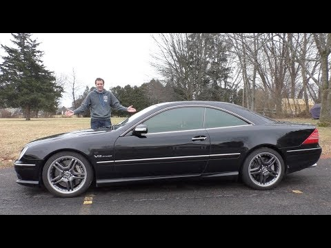 This V12 Mercedes CL65 AMG Is an Insane 30 000 Used Car