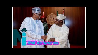 Buhari presides over Council of State, shakes hands with Obasanjo, Fayose [PHOTOs]
