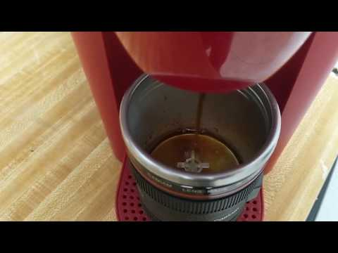 Making the best coffee out of my lens Slow Mo!