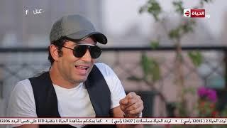 عين - عمرو سعد: كنت بعدي قدام السينما و بقول لاصحابي انا صورتي هتتحط على الأفيش ده