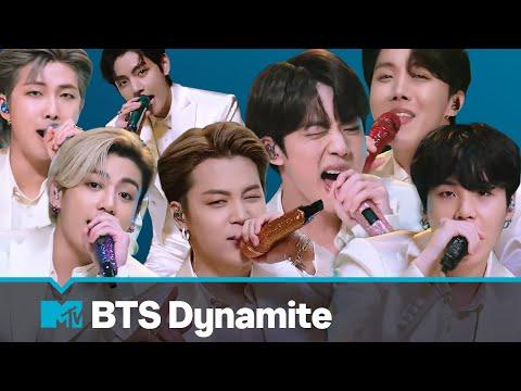 BTS Performs Dynamite MTV Unplugged Presents BTS