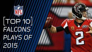 Top 10 Falcons Plays of 2015 | #TopTenTuesdays | NFL