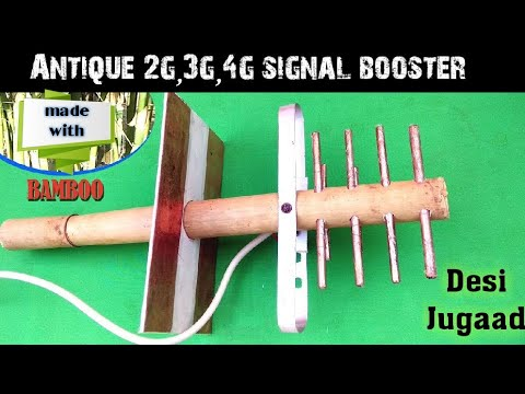 Xxx Mp4 Antique 2g 3g 4g Network Antenna Signal Booster Made With Bamboo Amazing 3gp Sex