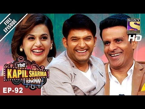 The Kapil Sharma Show - दी कपिल शर्मा शो -Ep -92 - Manoj And Taapsee In Kapil's Show - 25th Mar 2017
