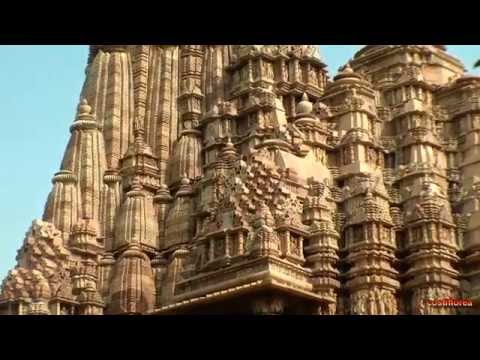 India Khajuraho Kamasutra Temple part1 Trip to Nepal Tibet India part 28 Travel video HD
