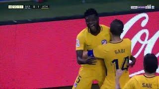 هدف توماس القاتل في مباراة اتلتيكو مدريد و ديبورتيفو لاكورونيا 1-0 - الدوري الاسباني